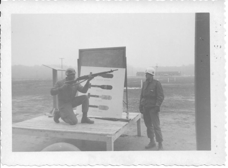 10 MASH Demonstration of Rifle grenade, Ft Eustis, VA 1952