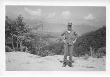 Don Feeney, Yang-Gu Pass, Korea, July '53
