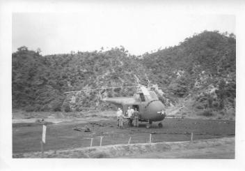 Evacuating wounded, 46th MASH, July '53