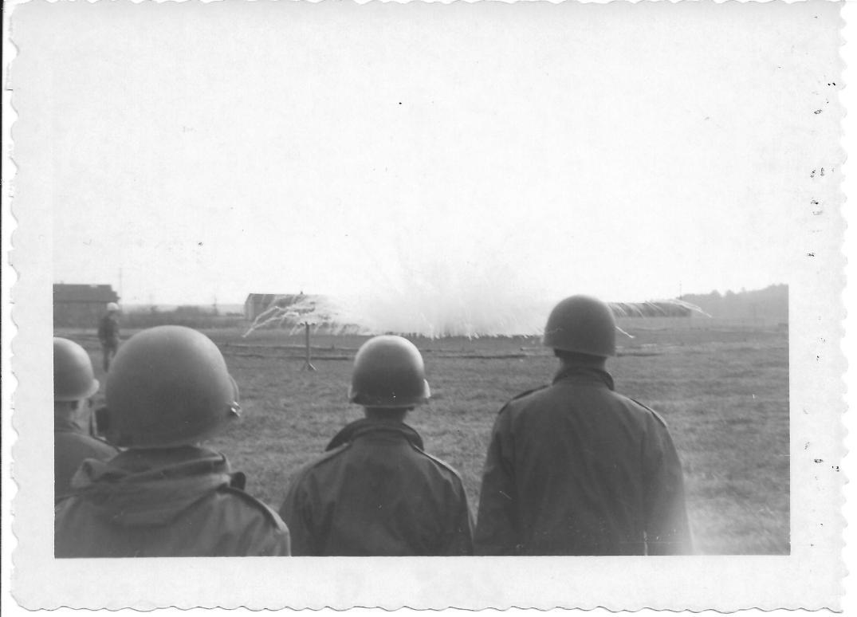 11 MASH Grenade exploding, Ft Eustis, VA 1952