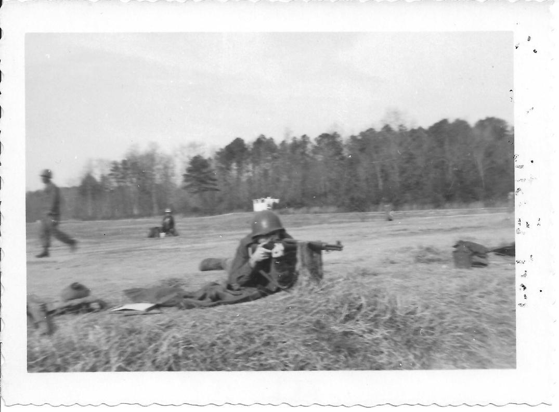 12 MASH Don Feeney firing range, Ft Eustis, VA 1952