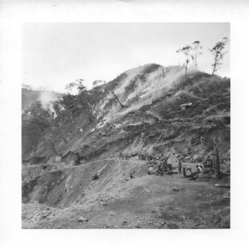 Rear side of Christmas Hill, Korea, July, 1953
