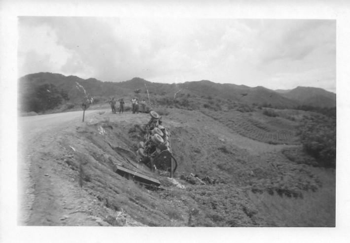 Trip from Wonju to 46th MASH, Korea, August, 1953