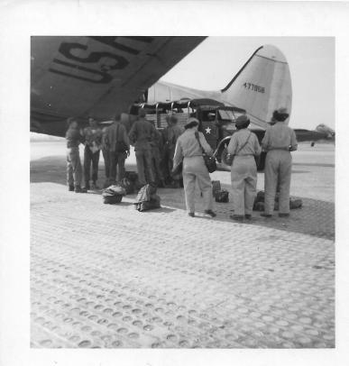 Kimpo Airfield, Seoul, Korea, 1953