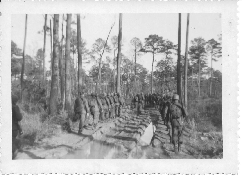 16 MASH march, basic training, Ft Eustis, VA 1952