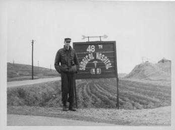 Don Feeney, 48th Surgical Hospital, MA, Korea, January 1954