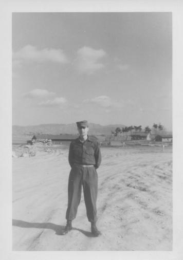 Don Feeney at 48th MASH, Korea, 1954
