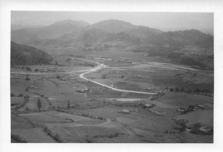 Korean valley, July, 1953