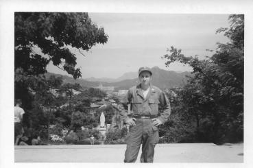 Lt. Donato, Seoul Korea, 1953