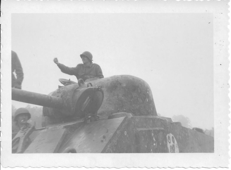 24 MASH Don Feeney, Sherman Tank, Ft Eustis, VA 1952