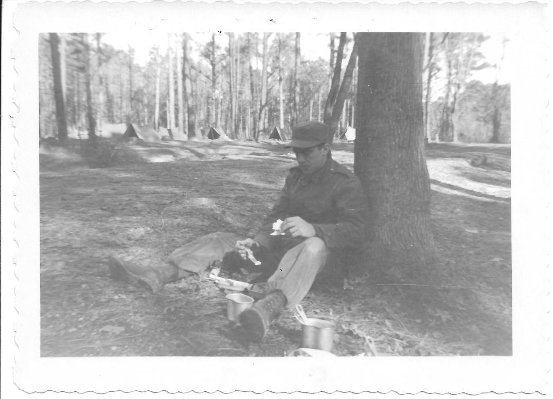 29 MASH Bernie Fischer, bivouac, Ft Eustis, January 1953
