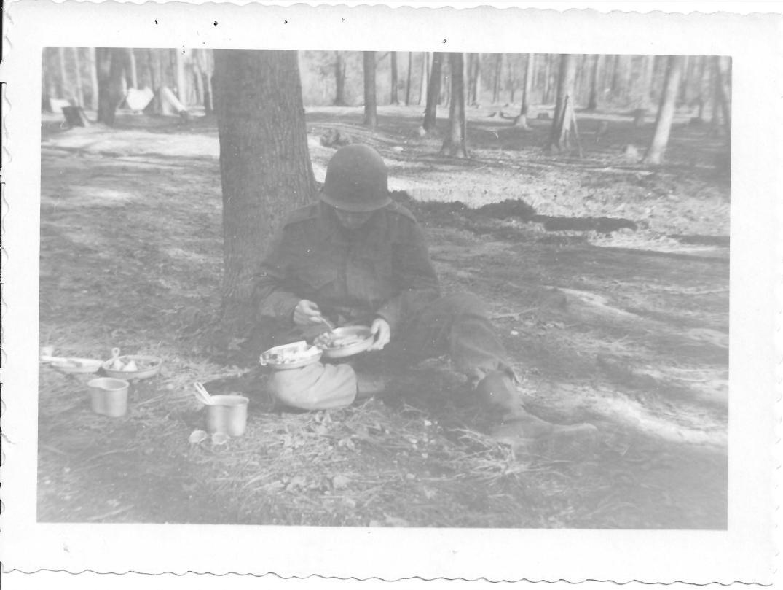 30 MASH Don Feeney, bivouac, Ft Eustis VA Jan 1953