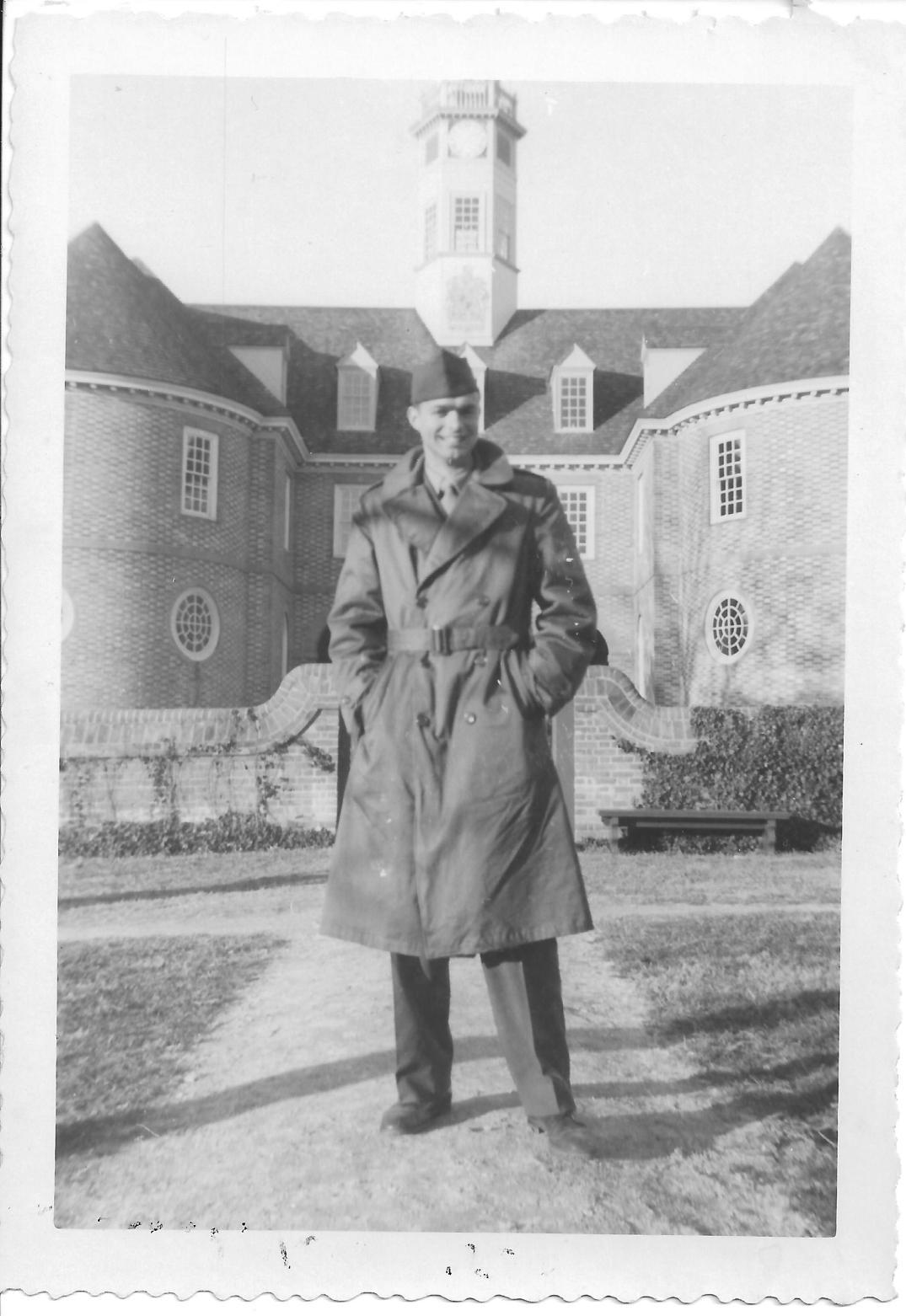 33 MASH Don Feeney, Williamsburg, VA 1952