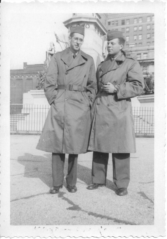 34 MASH Andy Luftig and Ron Wertheimer, Richmond, VA 1952