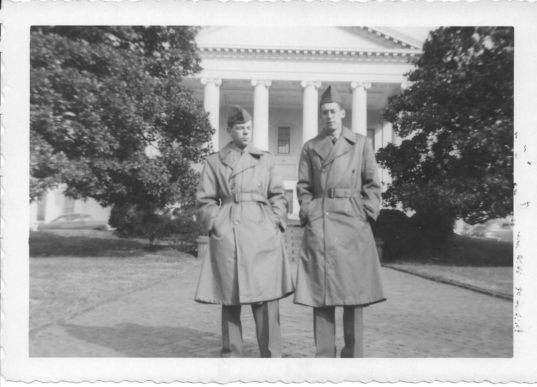 36 MASH Andy Luftig and Ron Wertheimer, Richmond, VA 1952