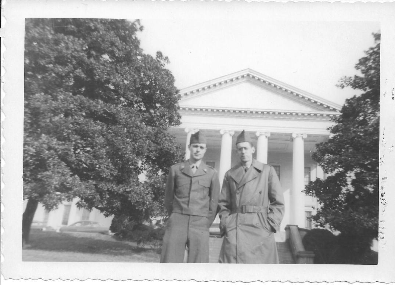 37 MASH Don Feeney and Andy Luftig, Richmond, VA 1952