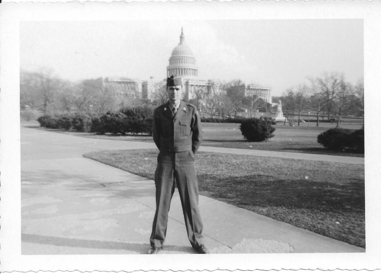 42 MASH Don Feeney, Washington DC, early 1953