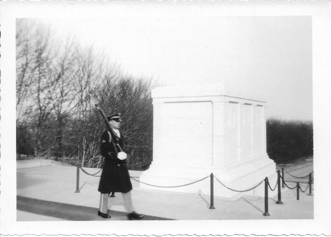 44 MASH Tomb of the Unknown Soldier, Arlington, VA, early 1953