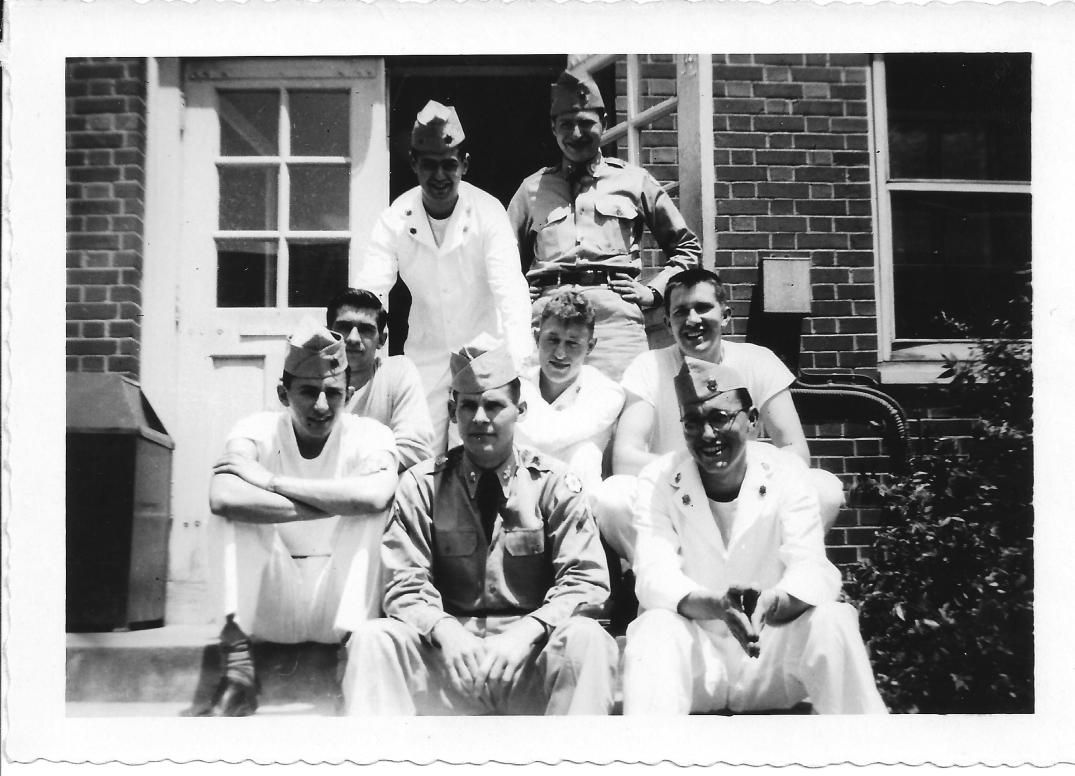 47 MASH Walter Reed Guys from Baracks May 1953