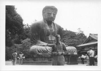 Don Feeney, Great Buddha at Kamakura, July, 1953