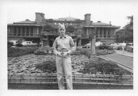 Don Feeney, Imperial Hotel, Tokyo, June 1953