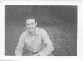 Don Feeney, Meiji Park, October, 1953