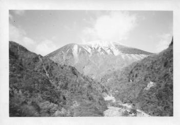 Mount Nantai, 8200 feet high, Japan, 1953