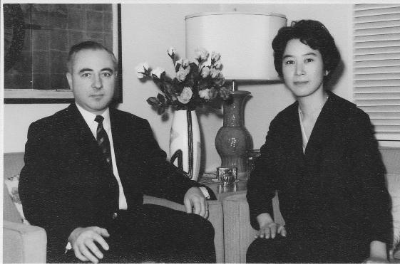 Japanese couple, 1953
