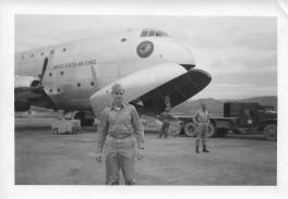 C-124 Globemaster, Taegu, Korea, July '53